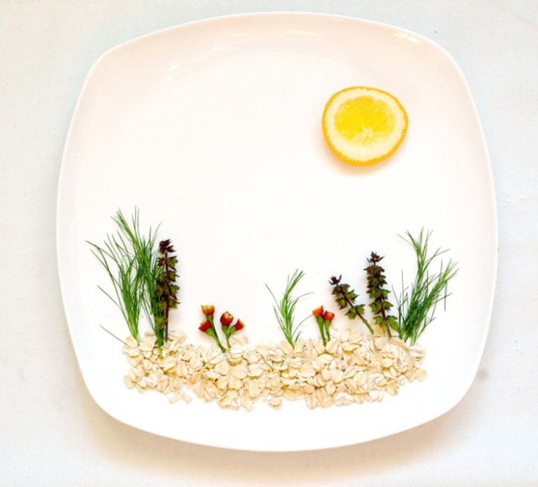 Interesting  amp  Creative Food Art