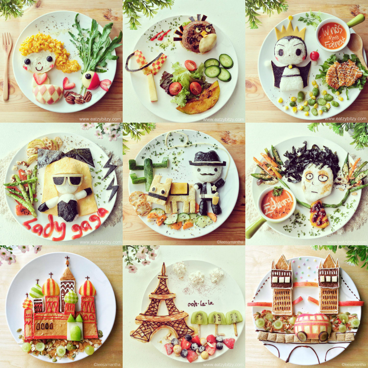 45+ Interesting & Creative Food Art Design Ideas
