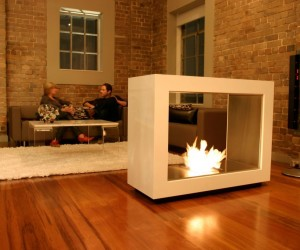 Modern & Creative Fireplace Designs