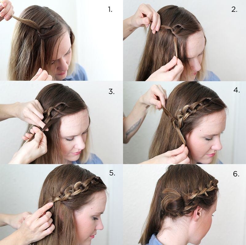 Latest And Beautiful Step By Hairstyles For