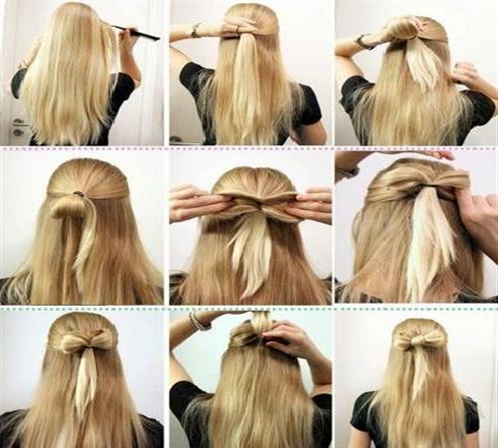 Latest Long Hair Step By Step Hairstyles For Girls Part 2