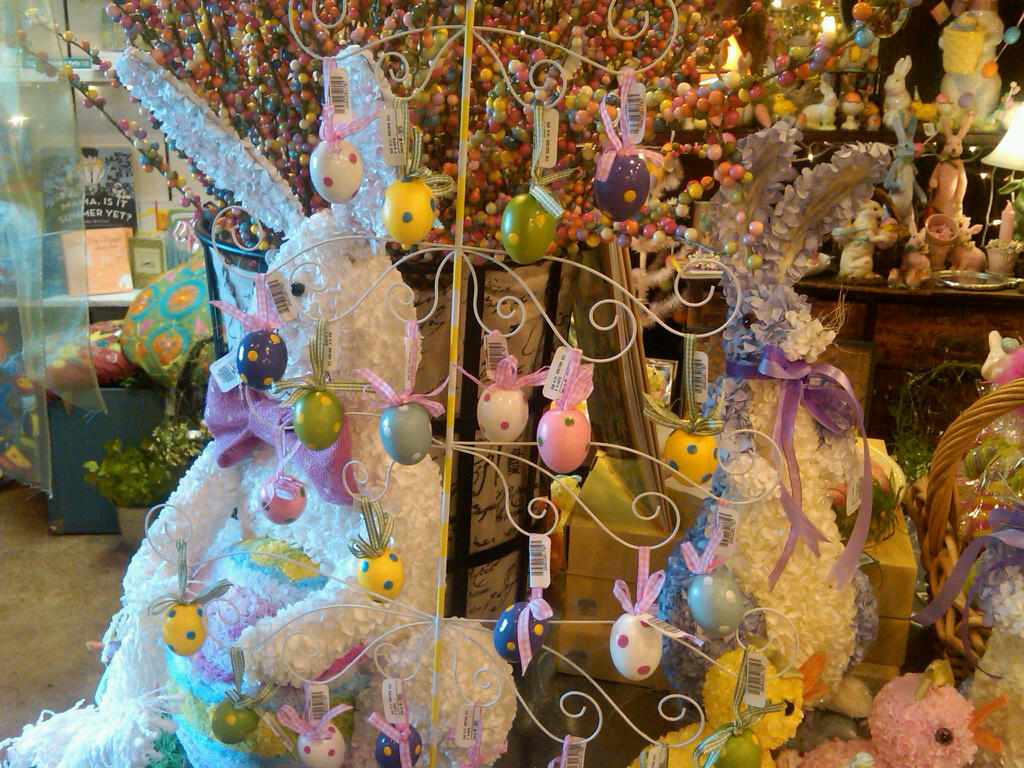 Easter decoration outdoor - Outside Easter Decorations Ideas