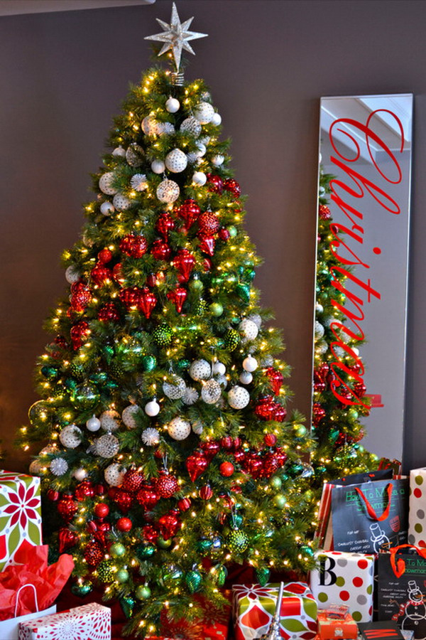 80+ Most Beautiful Christmas Tree Decoration Ideas – Part 2 - Page ...
