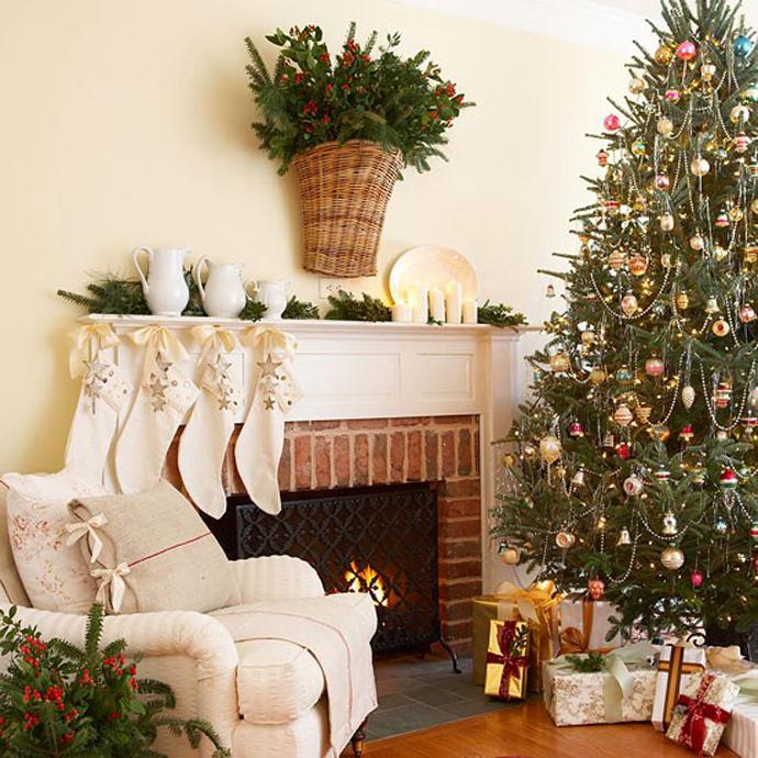 80 most beautiful christmas tree decoration ideas part for Salon xmas decorations