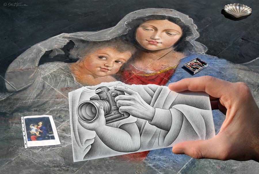pencil-vs-camera-digital-art-by-mydesignbeauty-11