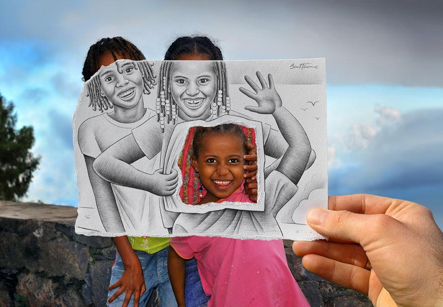 pencil-vs-camera-digital-art-by-mydesignbeauty-7