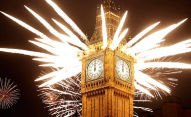 New Year's Eve Fireworks Around The World