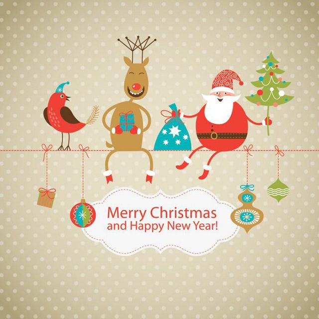 Amazingly Creative Christmas Card Designs by mydesignbeauty.com